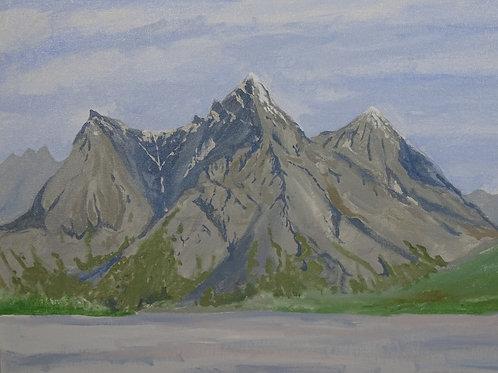 Copper Mountain, Alaska by Richard McElroy