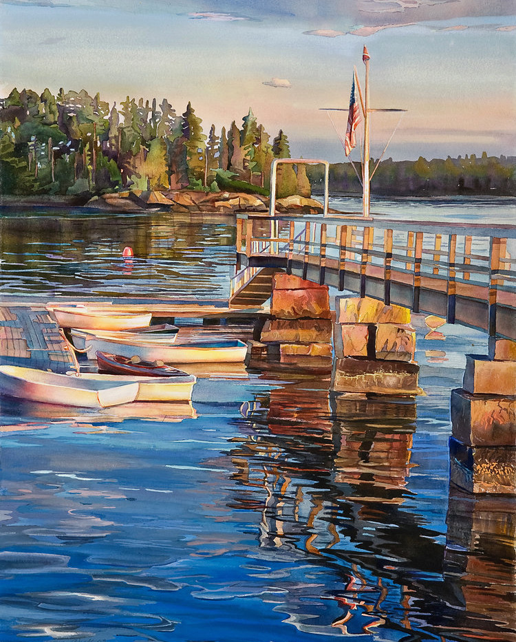 Yacht Club Perfect Day by Marjorie Glick