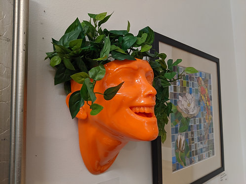 Smile Planter by Lee Williamson