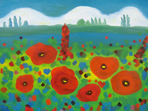 Poppies by Miranda Vitello