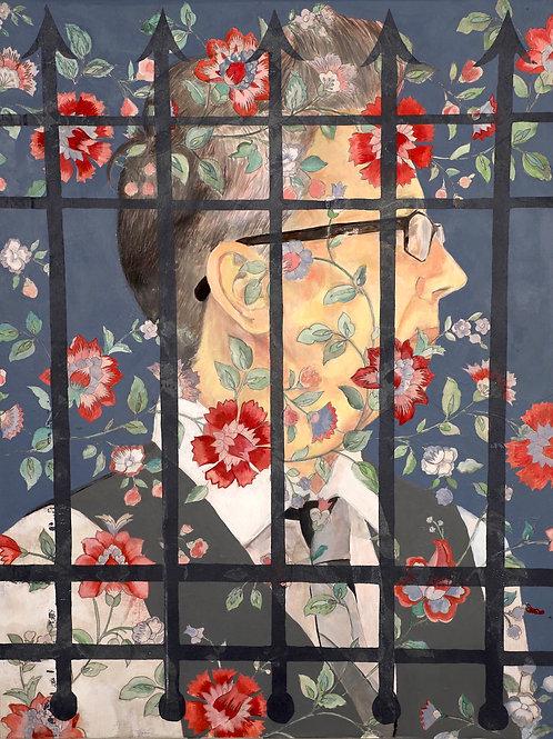 """""""Wallflower I"""" by Mia Fabrizio"""