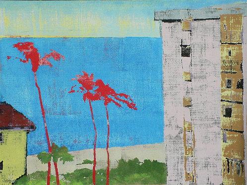 Waldorf Beach Naples 2 by David Covert