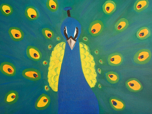 Peacock by Miranda Vitello
