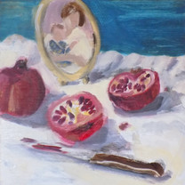 Pomegranates & Me by Jennifer Ingram