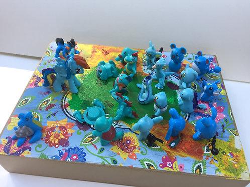 Ponies & Pokémon I-III  by Kecia Ali