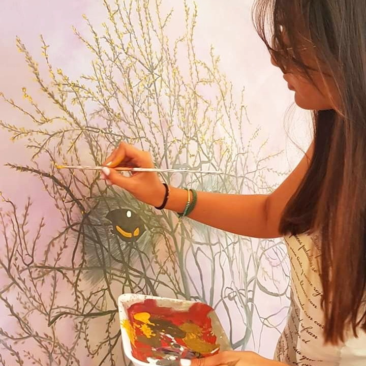PAINT & SIP: Art Therapy