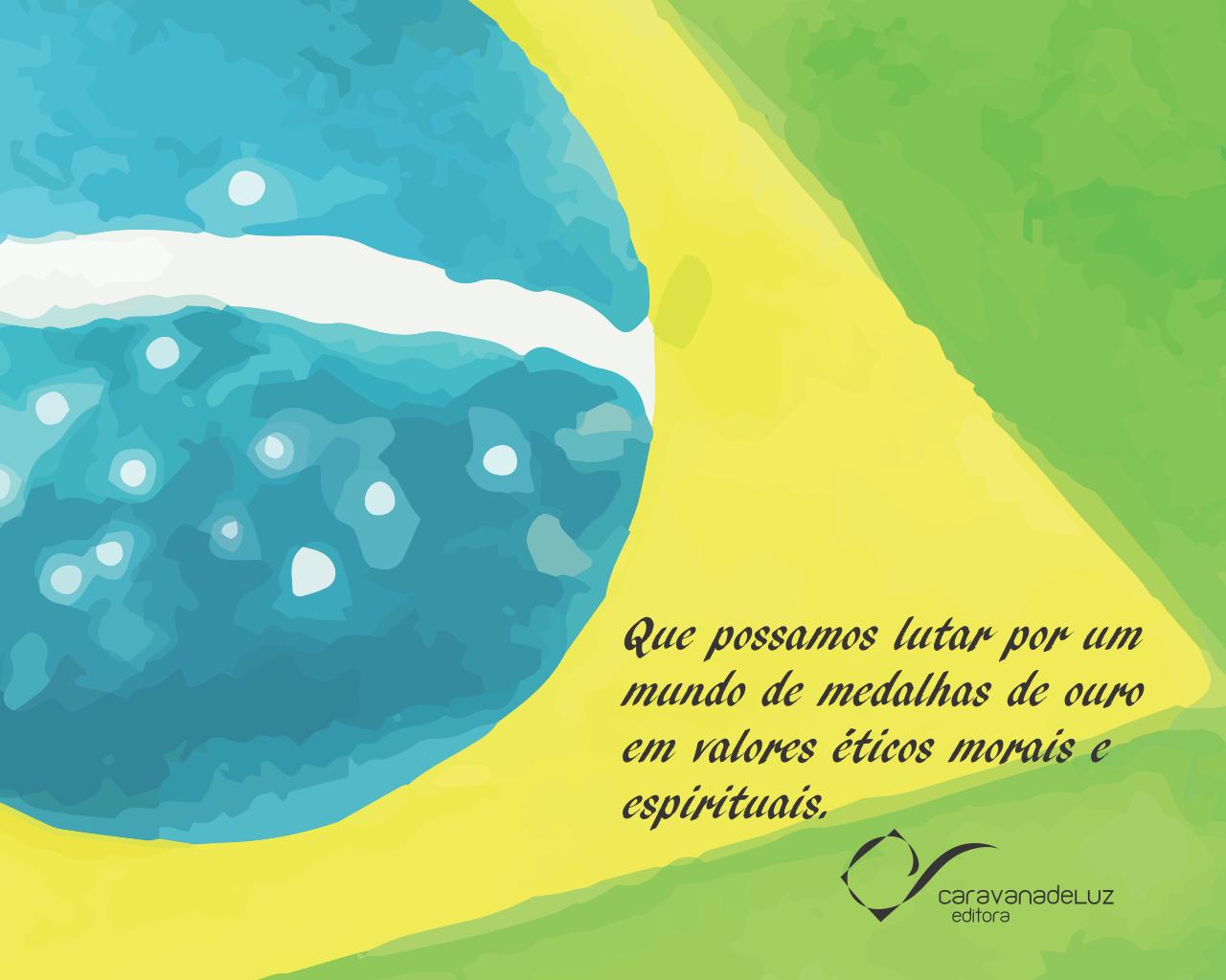 Clique na imagem acima e, faça download dos Wallpapers Por um Mundo Melhor, no formato 1280 por 1024, da Caravana de Luz Editora.