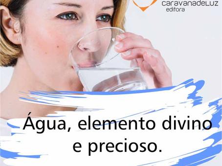 O poder da água fluída