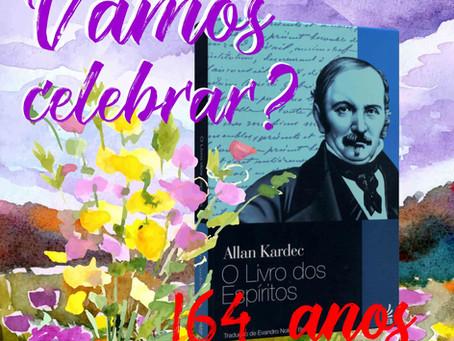 164 anos de O Livro dos Espíritos