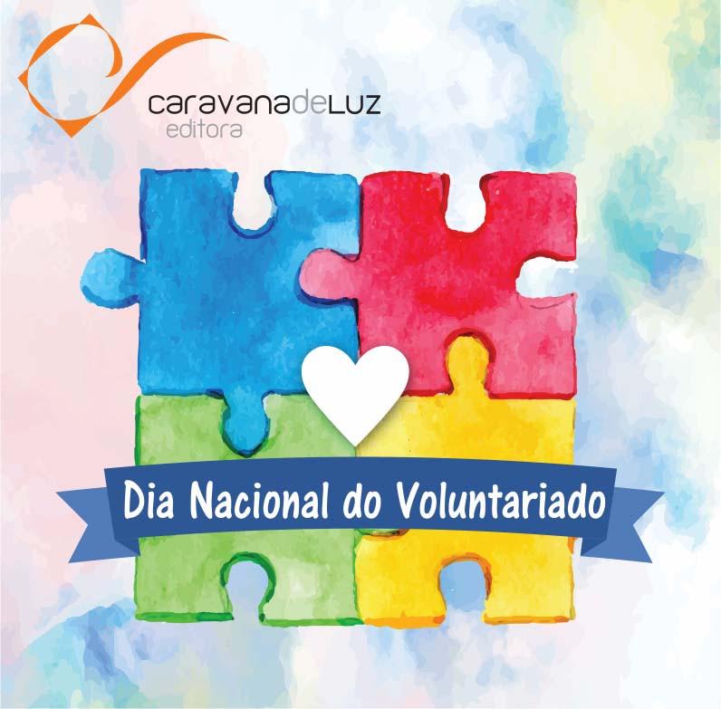 Quebra-cabeça do Dia Nacional do Voluntariado, da Caravana de Luz Editora.