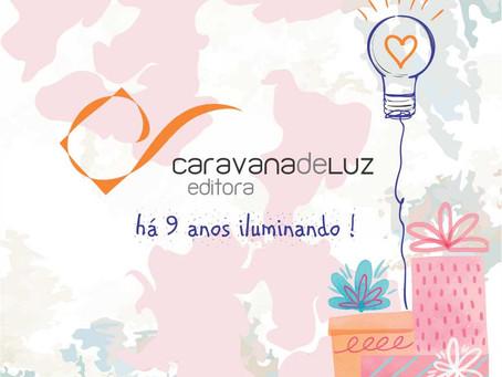 """""""Caravana de Luz Editora: há 9 anos promovendo a iluminação do ser"""""""