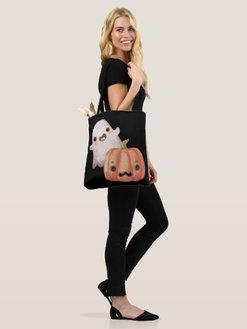 Watercolor Hallowen Trick or Treat bag