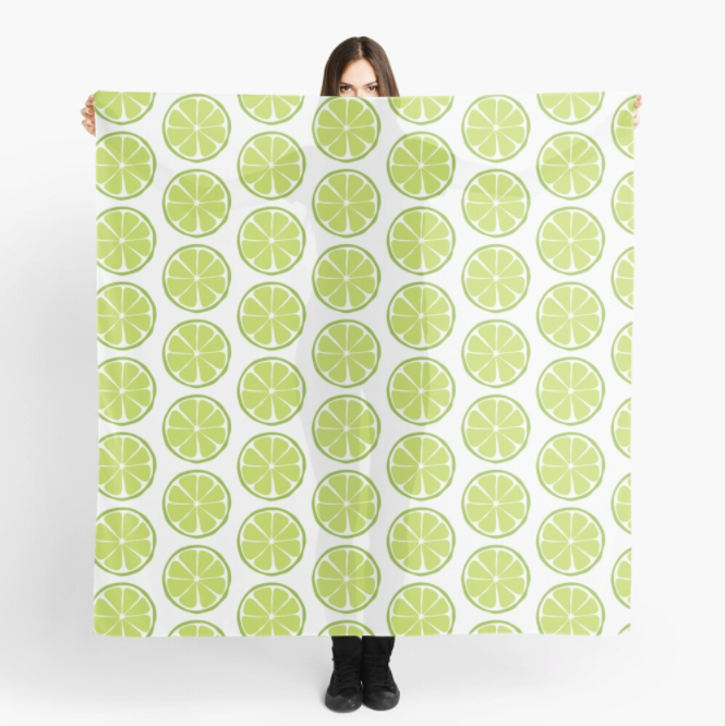 79's Retro Lime Scarf