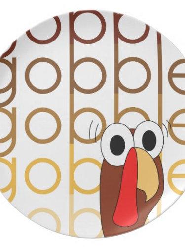 Gobble Gobble Gobble plate