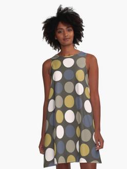 Retro Dots Dress