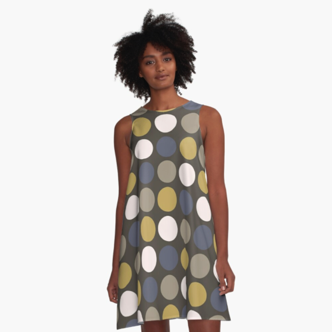Retro Dots Dress