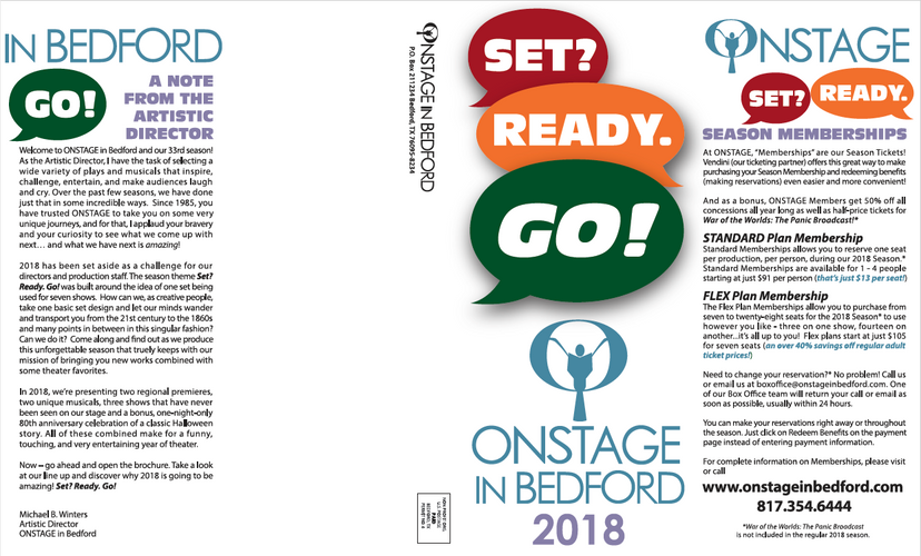 2018 ONSTAGE Brochure Outside