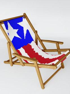 Patriotic Pride Sling Chair