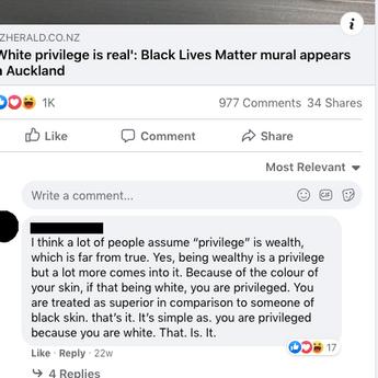 Aucklanders get together to create Black Lives Matter mural in Devonport