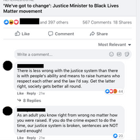 Justice Minister to BLM movement: 'We've got to change'