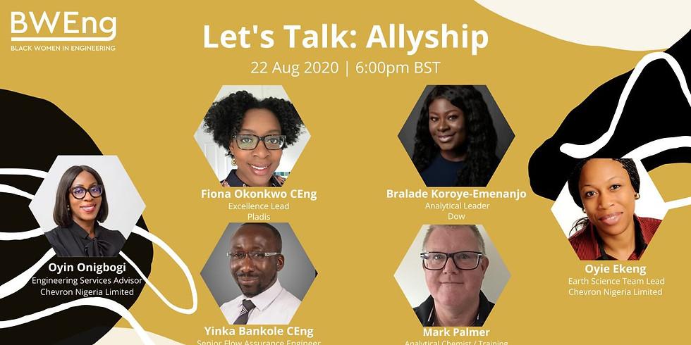 Let's Talk: Allyship for Black Women in Engineering
