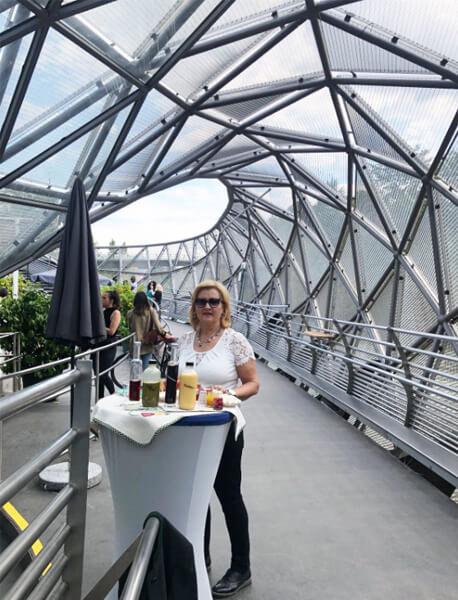 Eröffnung auf der Murinsel, Juni 2019