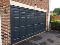 Garage Door Anthracite RAL 7016
