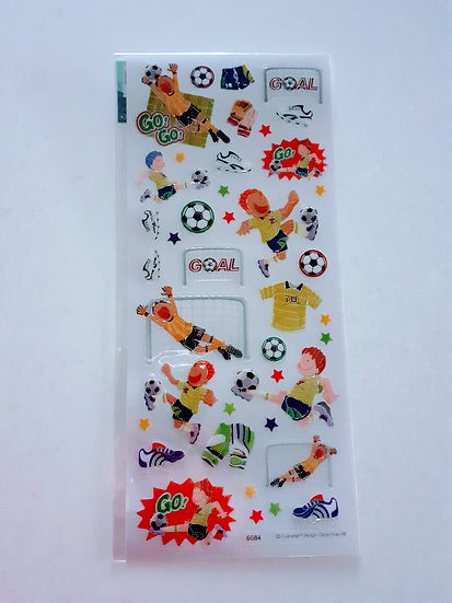 Stickers- Football match