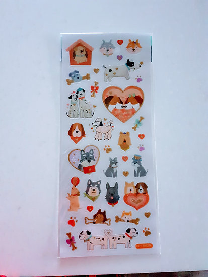 Stickers- Dogs in love