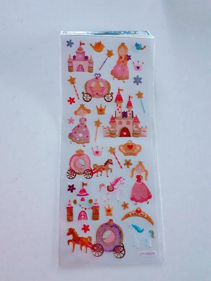 Stickers- Princess