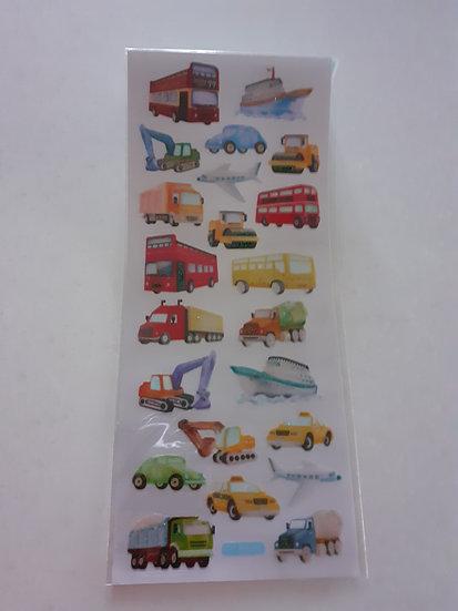 Stickers- Transport
