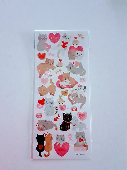 Stickers - Cats in love