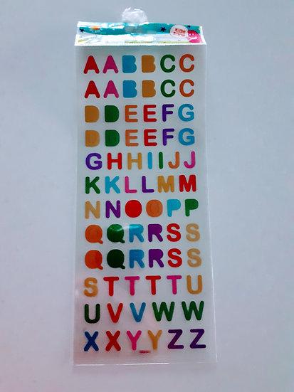 Stickers- Alphabet