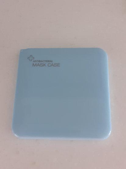 Medium Face Mask Case - Blue