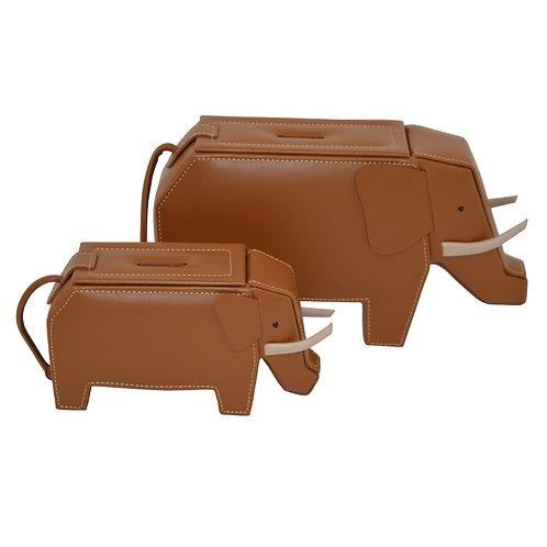 Tan Elephant money boxes