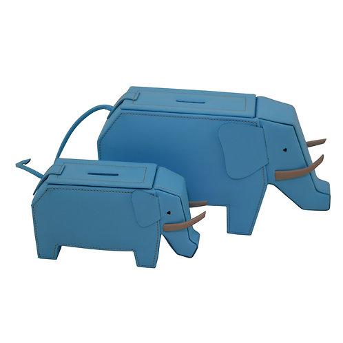 Blue Elephant money boxes