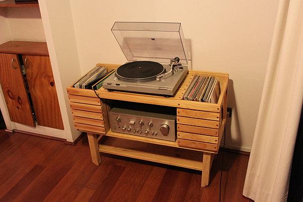 dveta mueble para tocadiscos