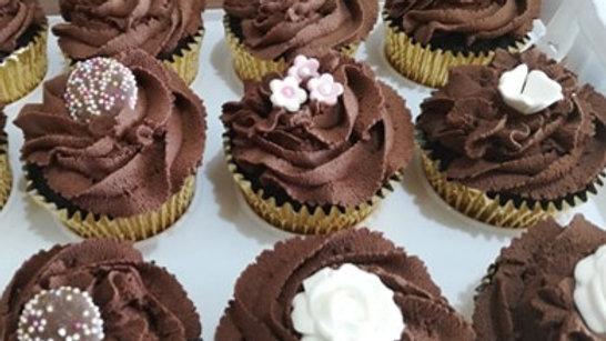 Chocolate Cupcake x 12