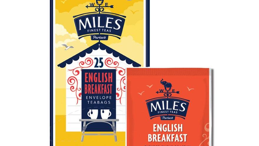 English Breakfast Envelope Tea Bags 25
