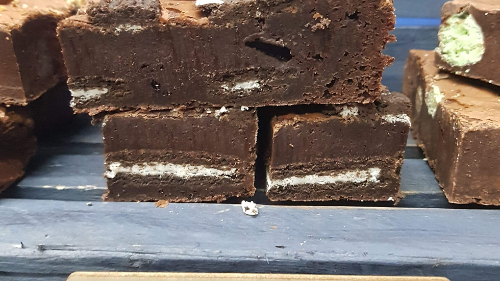 Chocolate Oreo Brownies x 6