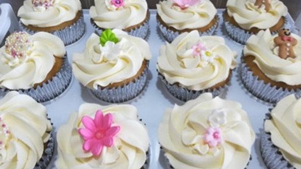 Vanilla Cupcake x 12