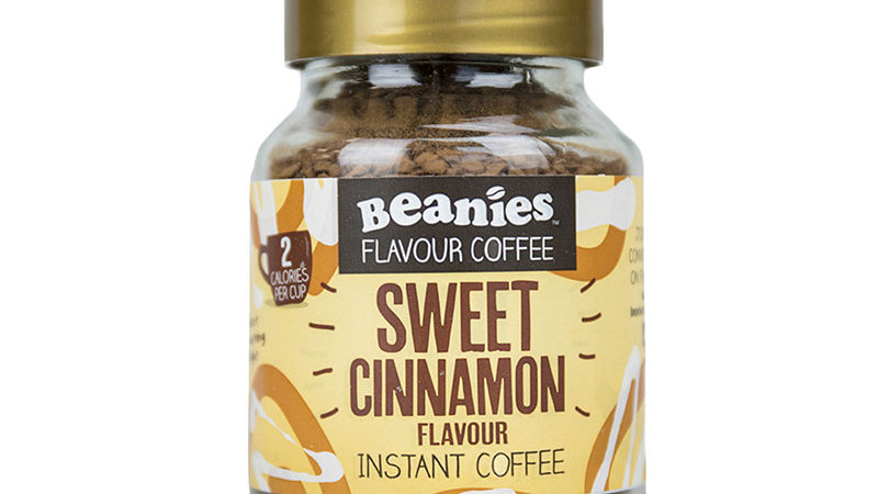 Sweet Cinnamon Flavour Instant Coffee