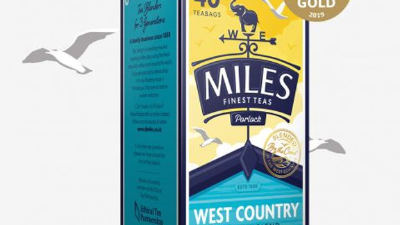 West Country Tea Bags 40