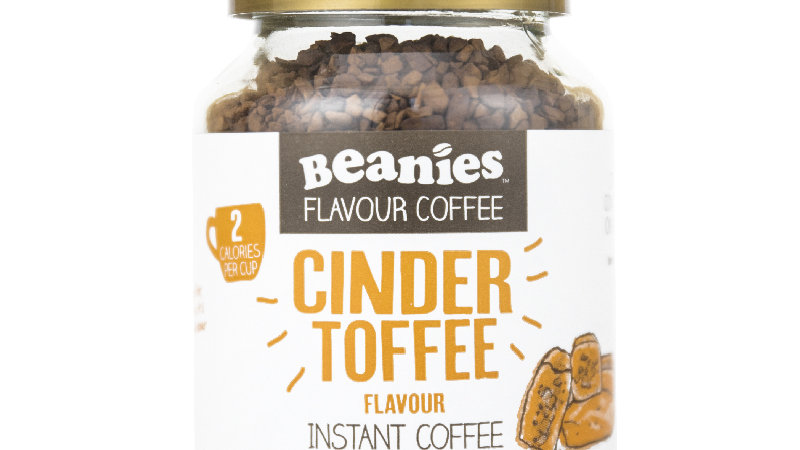 Cinder Toffee Flavour Instant Coffee