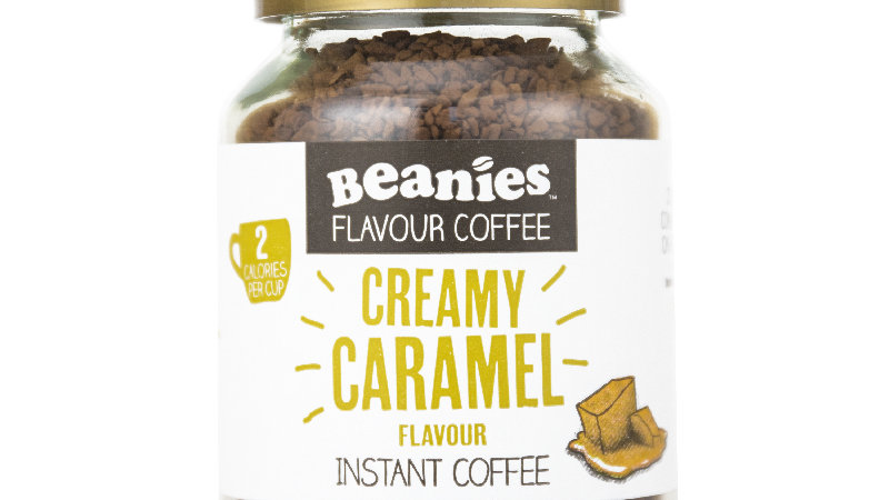 Creamy Caramel Flavour Instant Coffee
