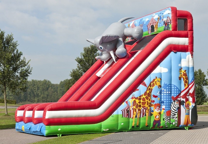 The Inflatable Circus Speed Slopes