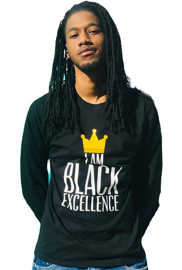 Black Excellence Long Sleeve Tee