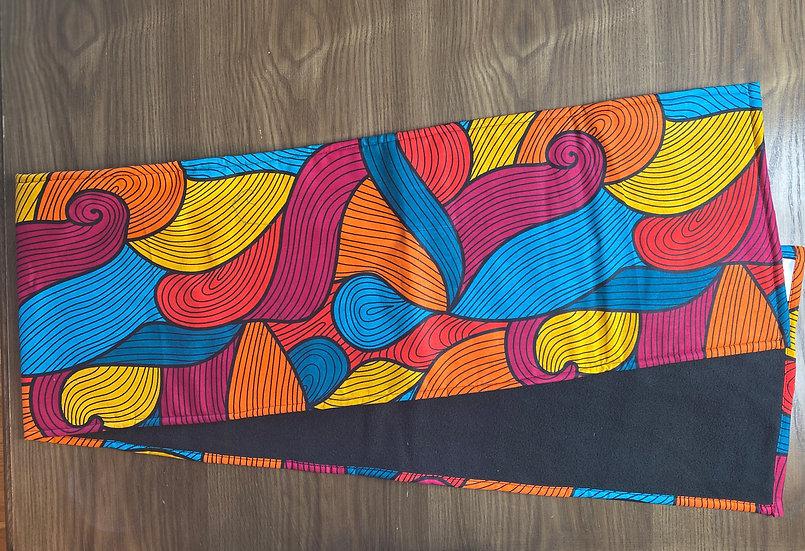 THREAD Pastel Ankara Fleece-Lined Scarf (Wholesale)