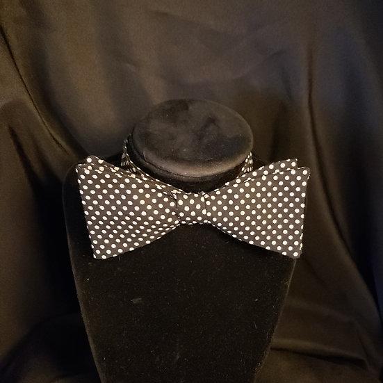 Black Polka Dot Bow Tie (Joe Collection)