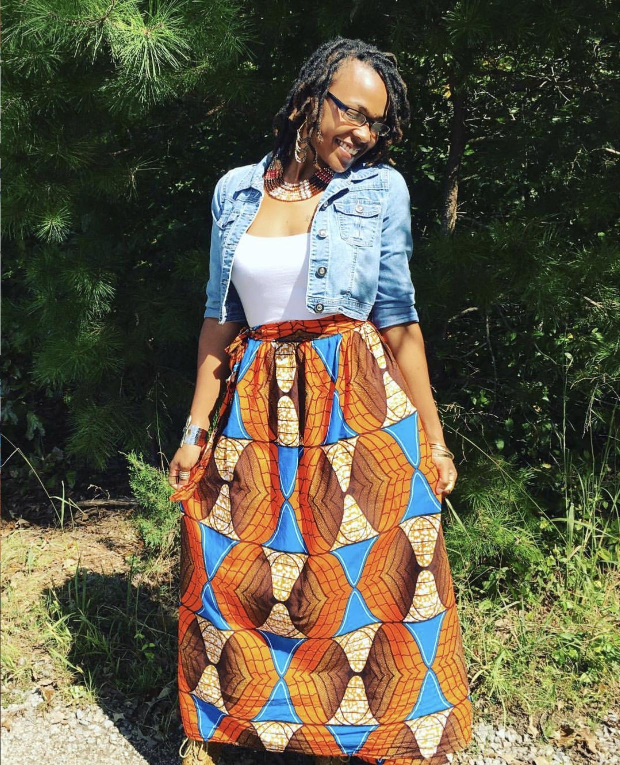 THREAD Long Skirt